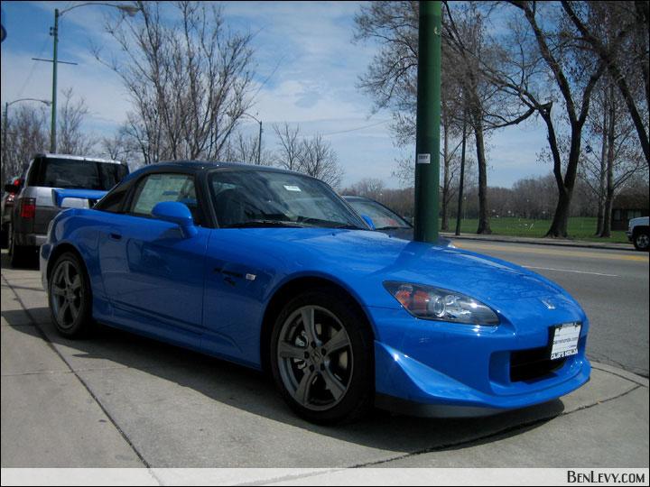 Honda S2000 Cr In Apex Blue Pearl Benlevy Com