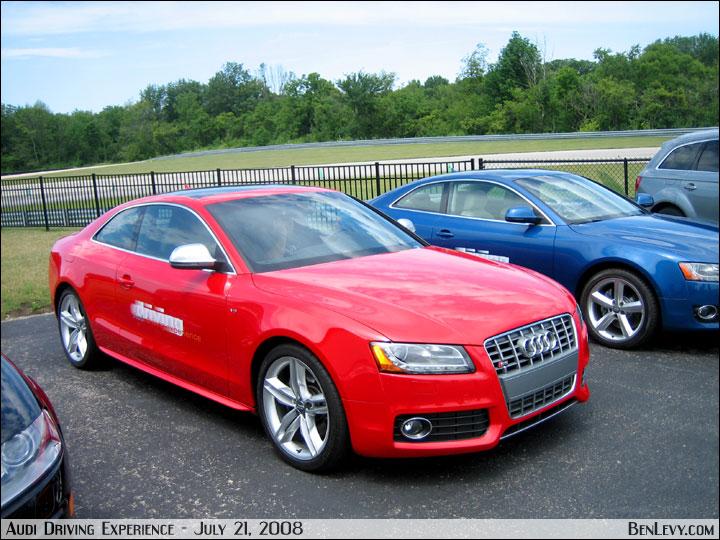 Audi S5 In Brilliant Red Benlevy Com