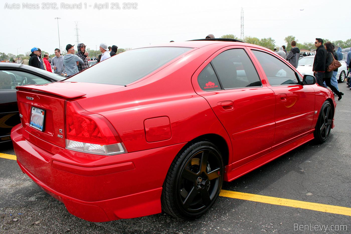 Red Volvo S60 R Benlevy Com