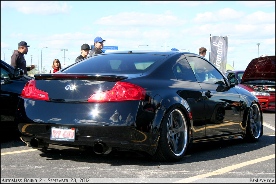 Black Infiniti G35 Coupe Benlevy Com