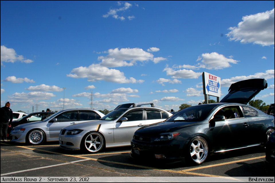 Cars at AutoMass Round 2