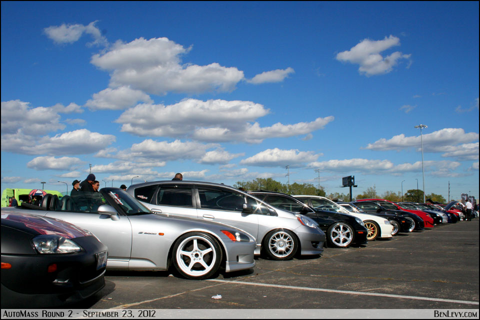 Car Show at AutoMass Round 2