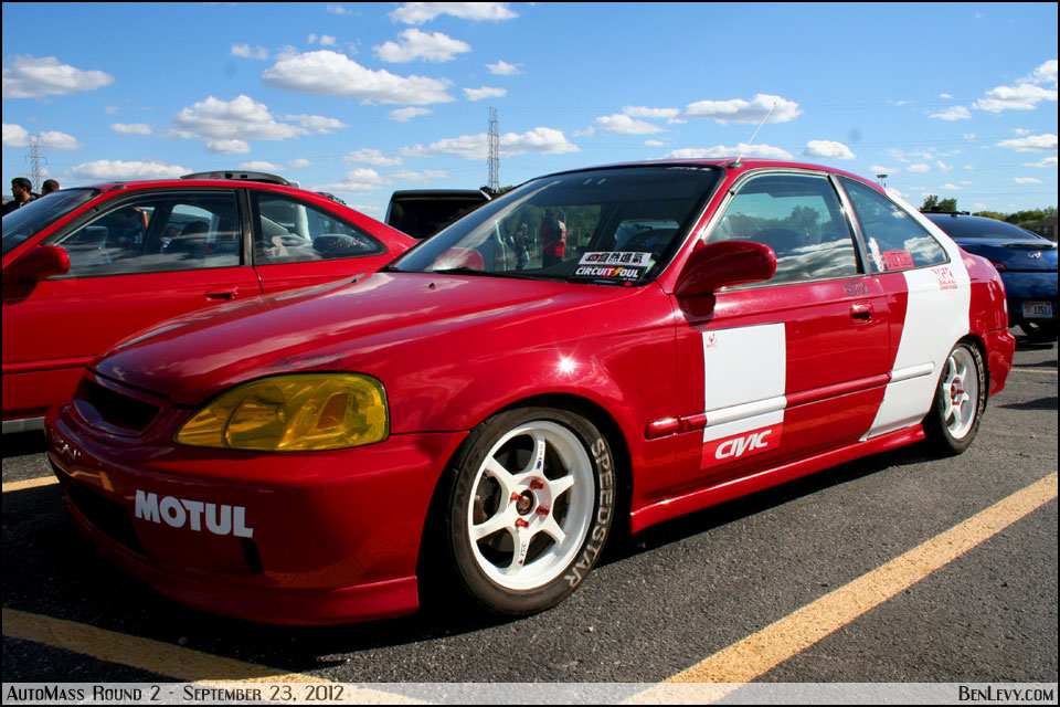 Red Honda Civic Coupe Benlevy Com