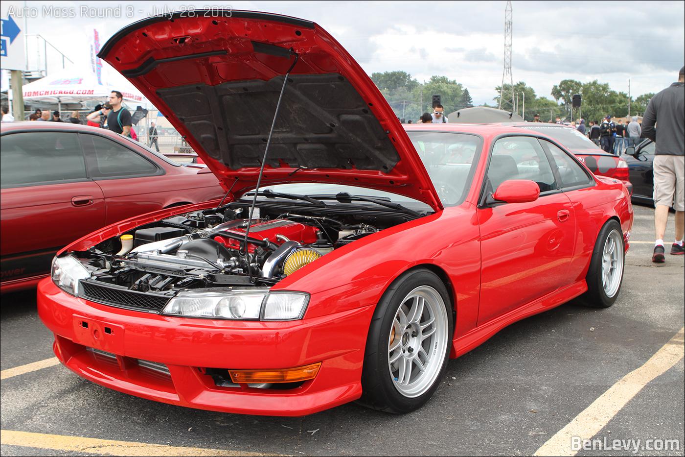 Red Nissan 240sx Benlevy Com