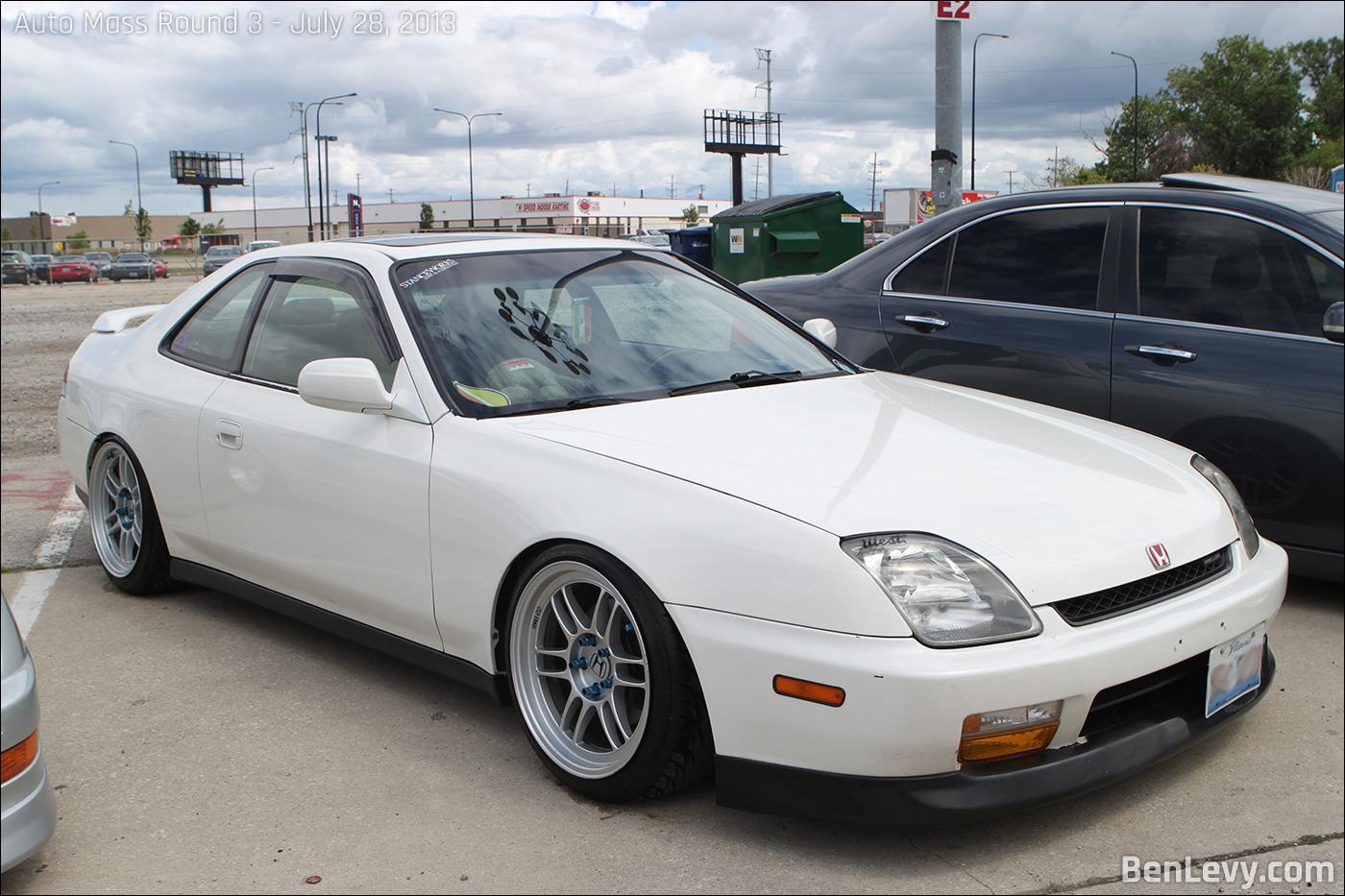 White Honda Prelude Benlevy Com