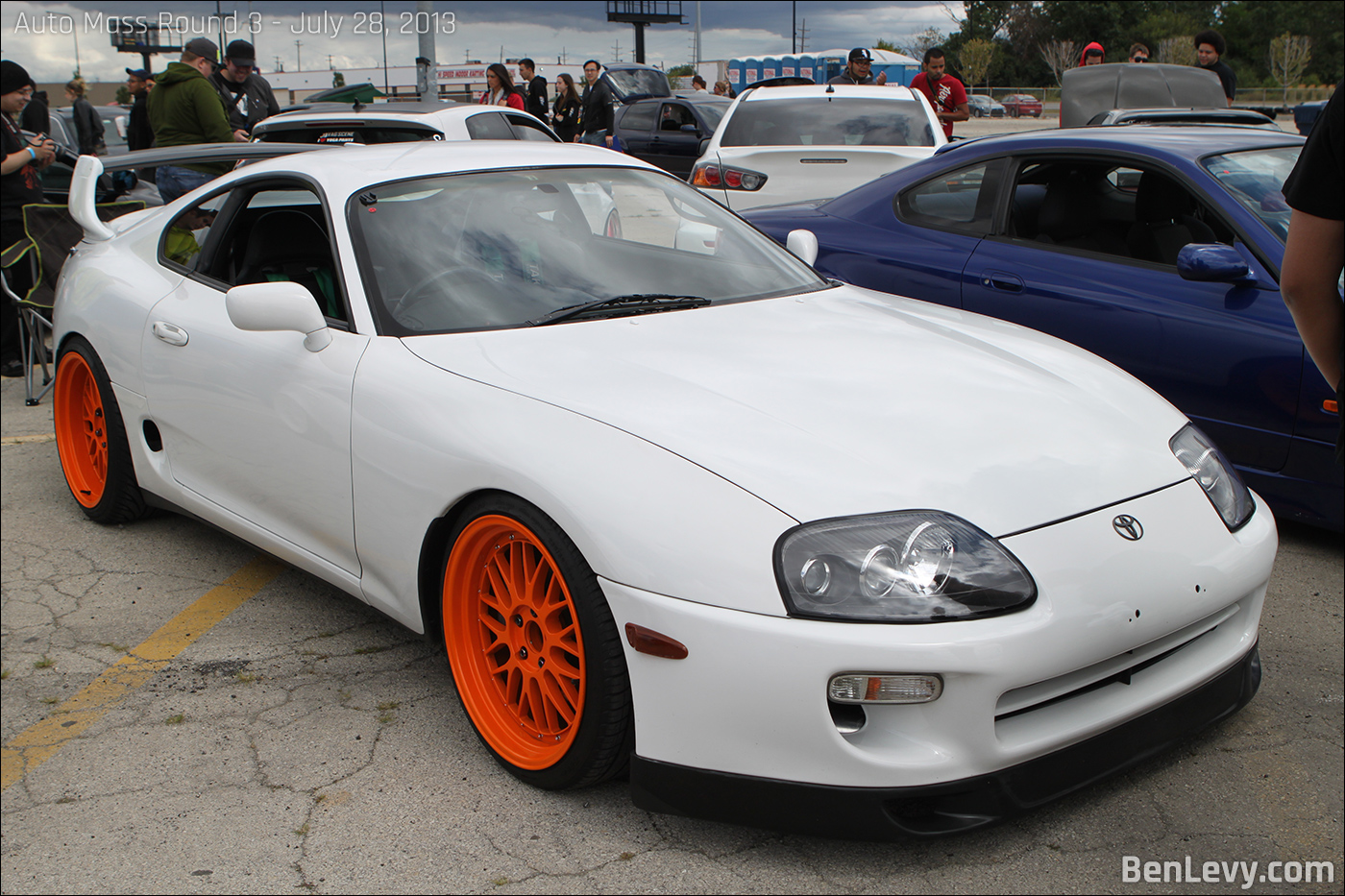 White Toyota Supra Benlevy Com