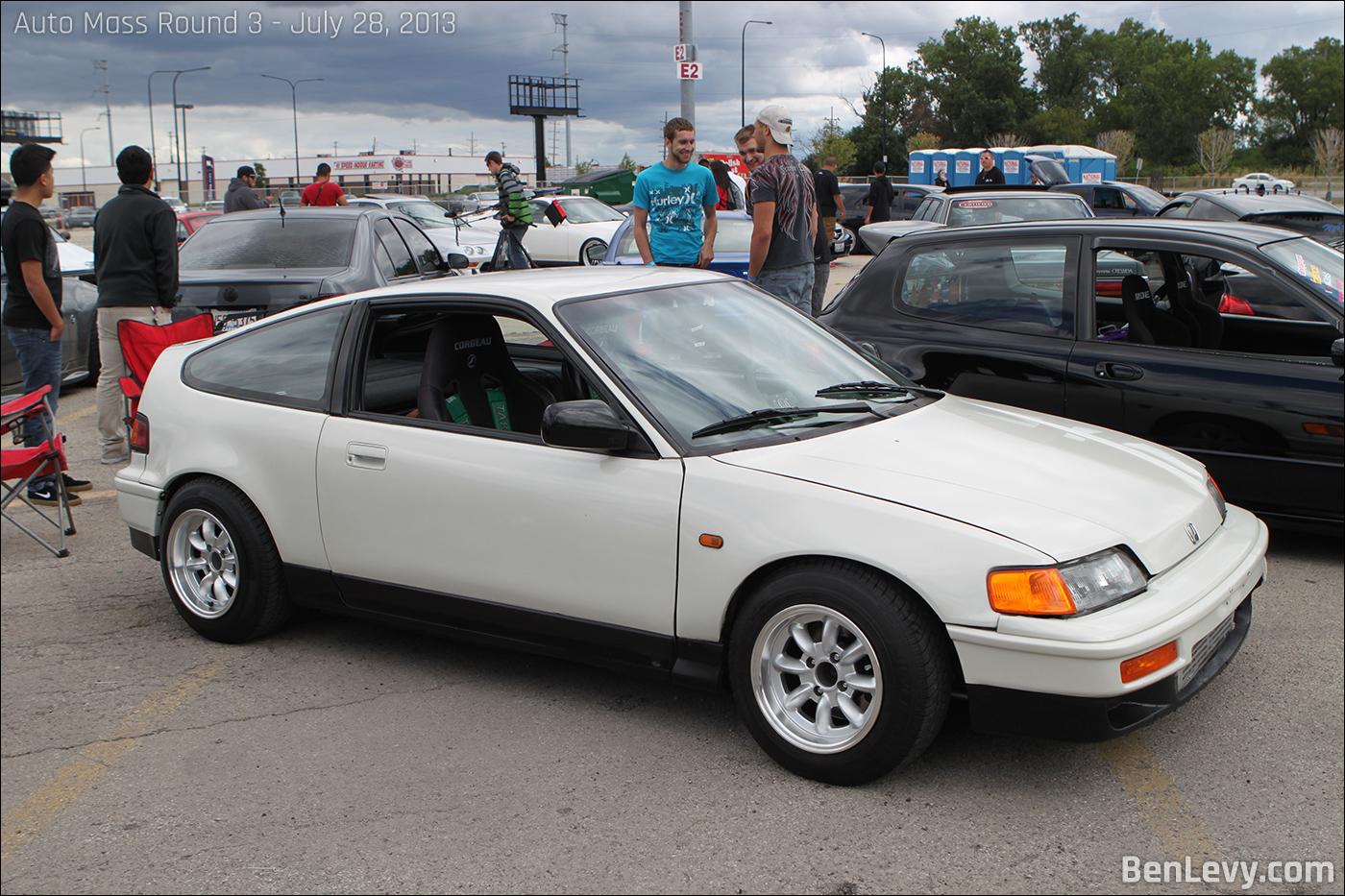 White Honda Crx Benlevy Com