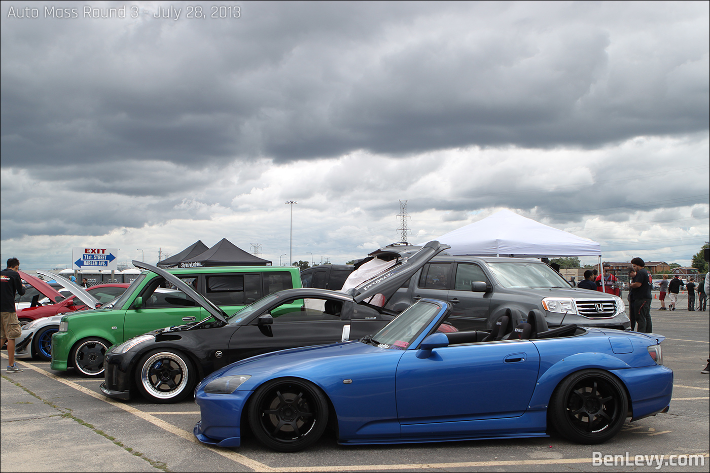 Cars at Auto Mass Round 3