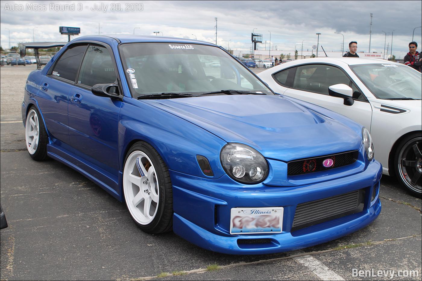 Blue Subaru Wrx Benlevy Com