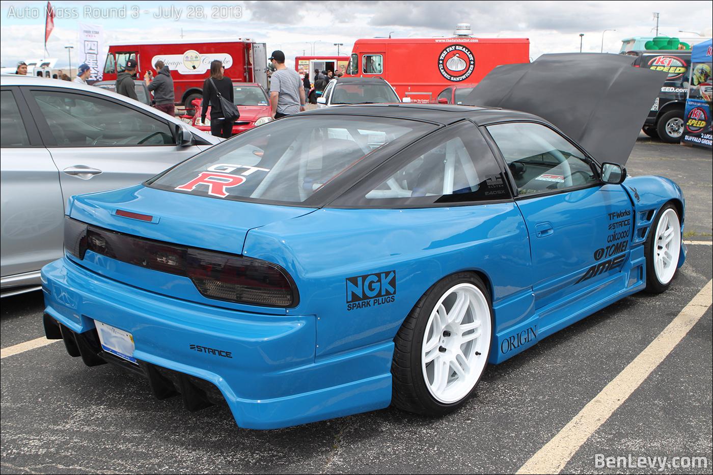 Blue Nissan 240sx Benlevy Com