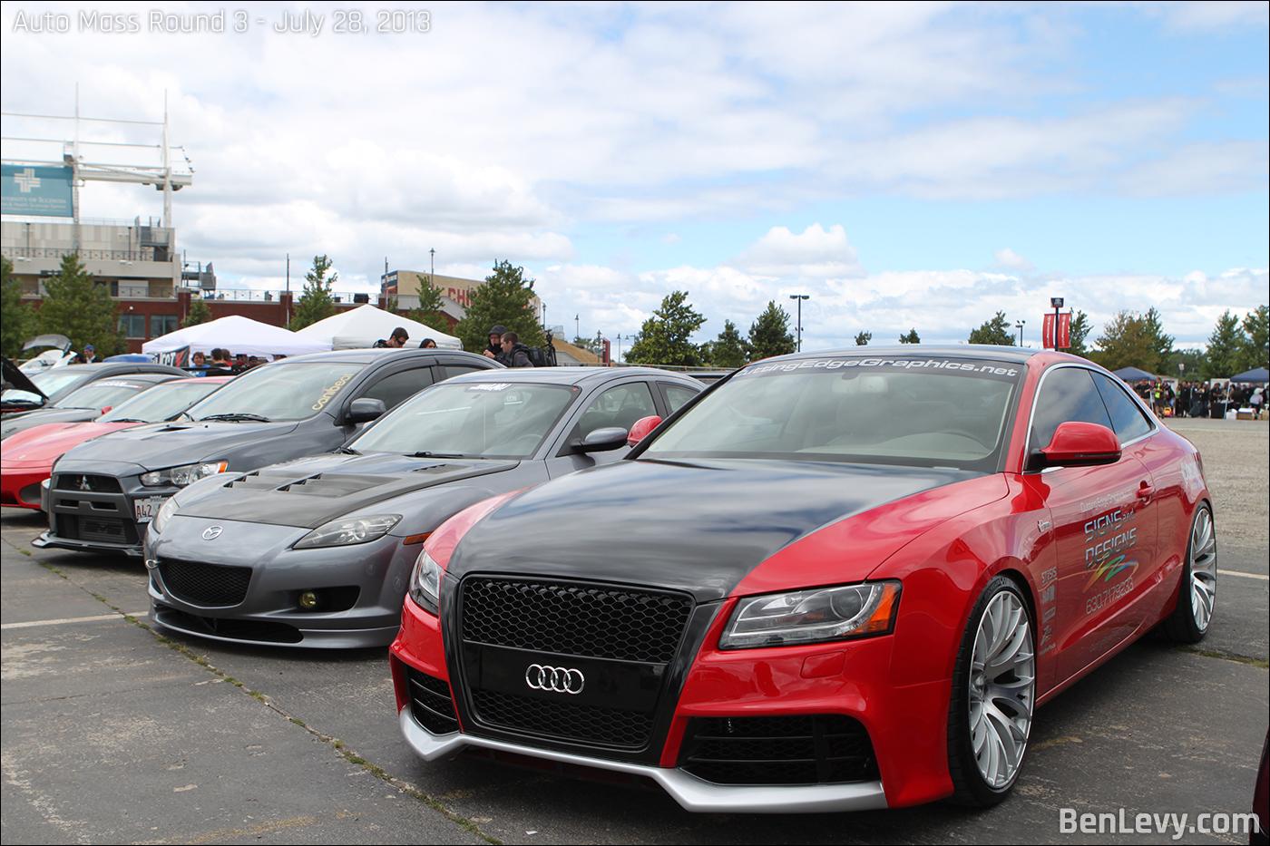 Show Cars at Auto Mass Round 3