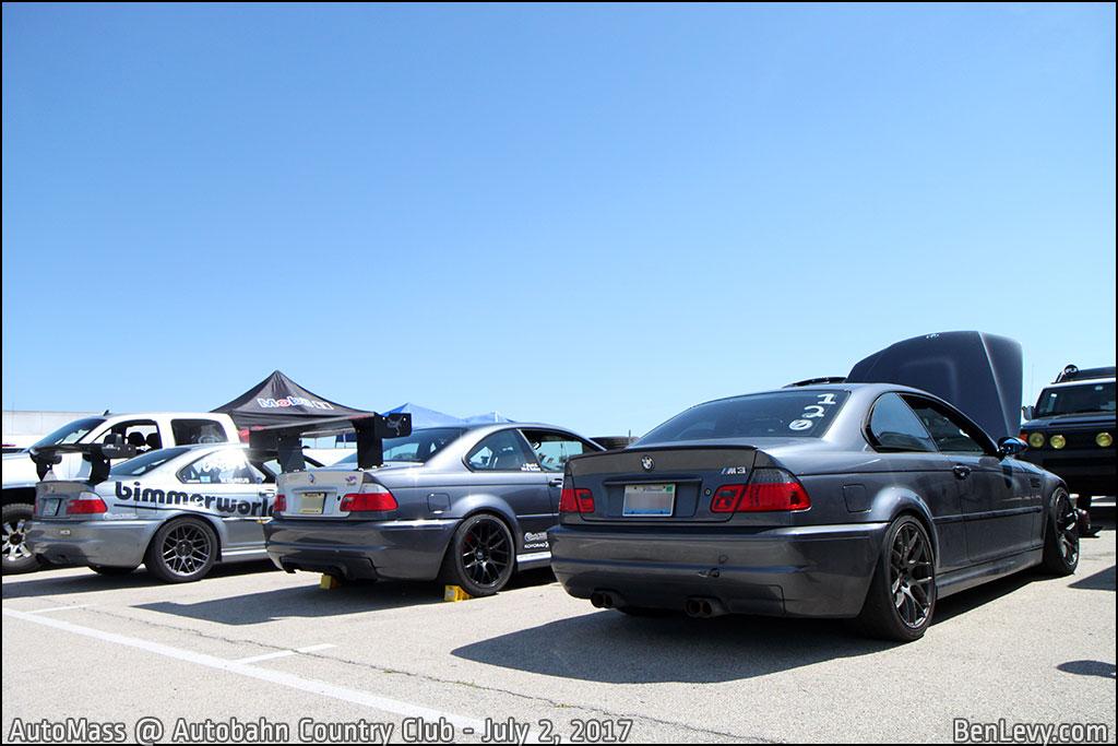 E46 BMW M3s