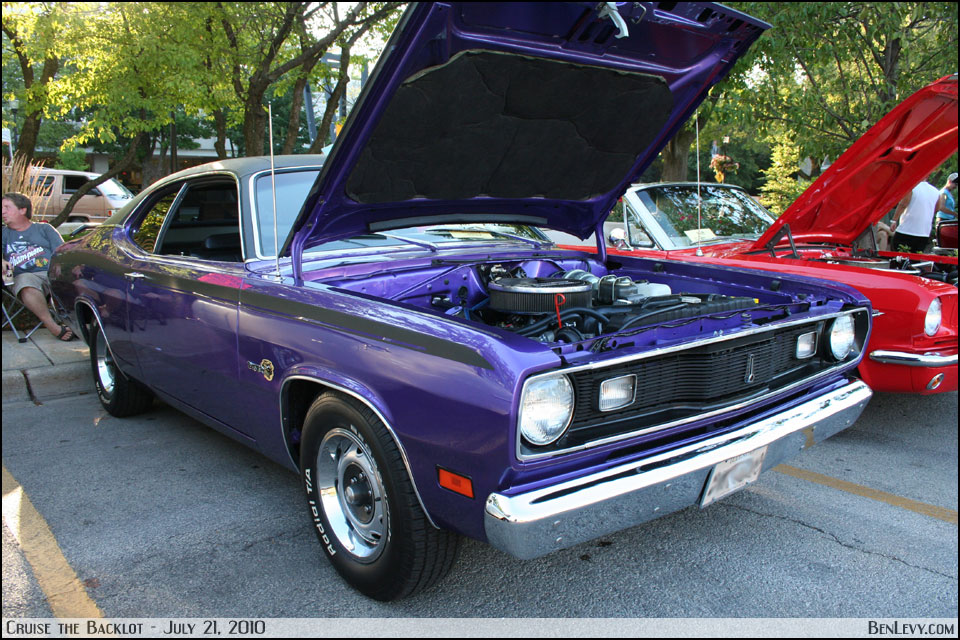 Purple Plymouth Duster Benlevy Com