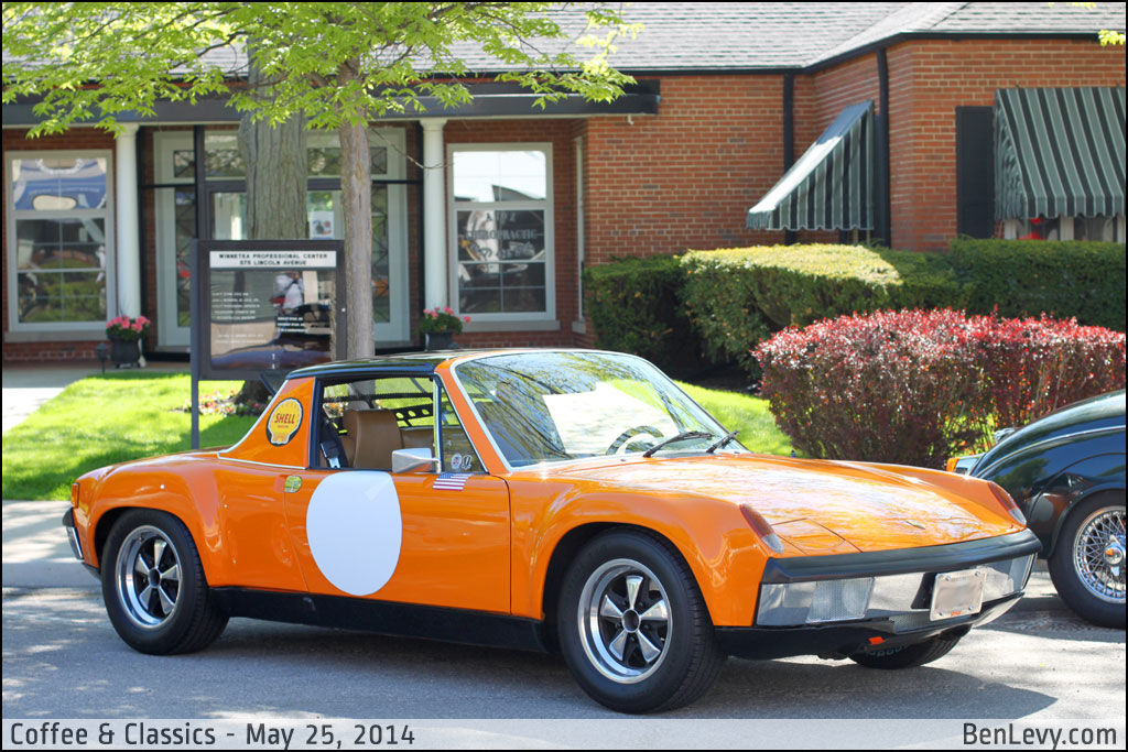 Orange Porsche 914 Benlevy Com