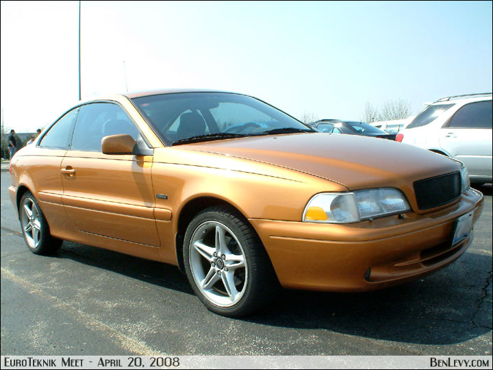 Nissan Select Orange Volvo C70 - BenLevy.com