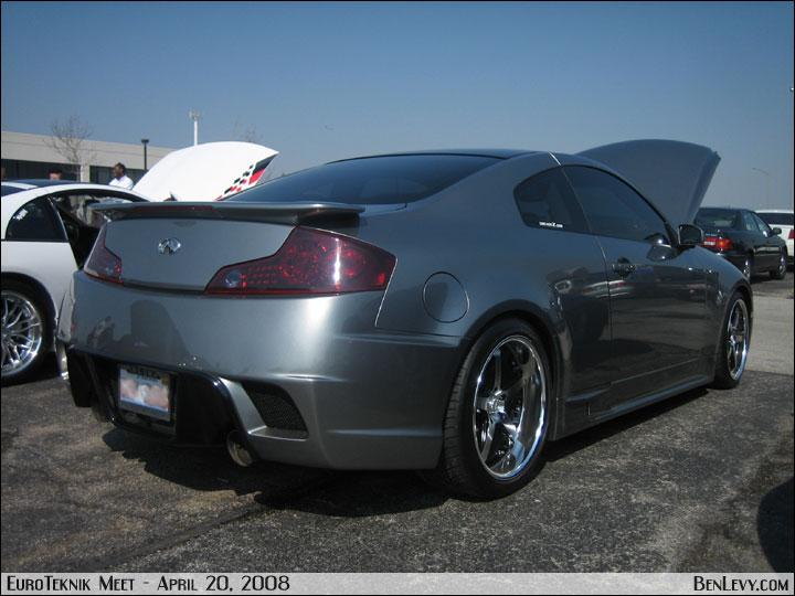 grey infiniti  coupe benlevycom