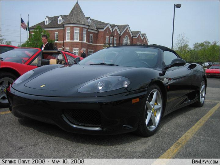 Black Ferrari 360 Modena Spider Benlevy Com