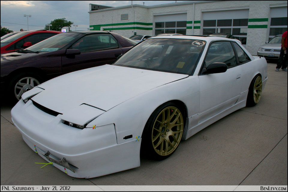 White Nissan 240sx Coupe Benlevy Com