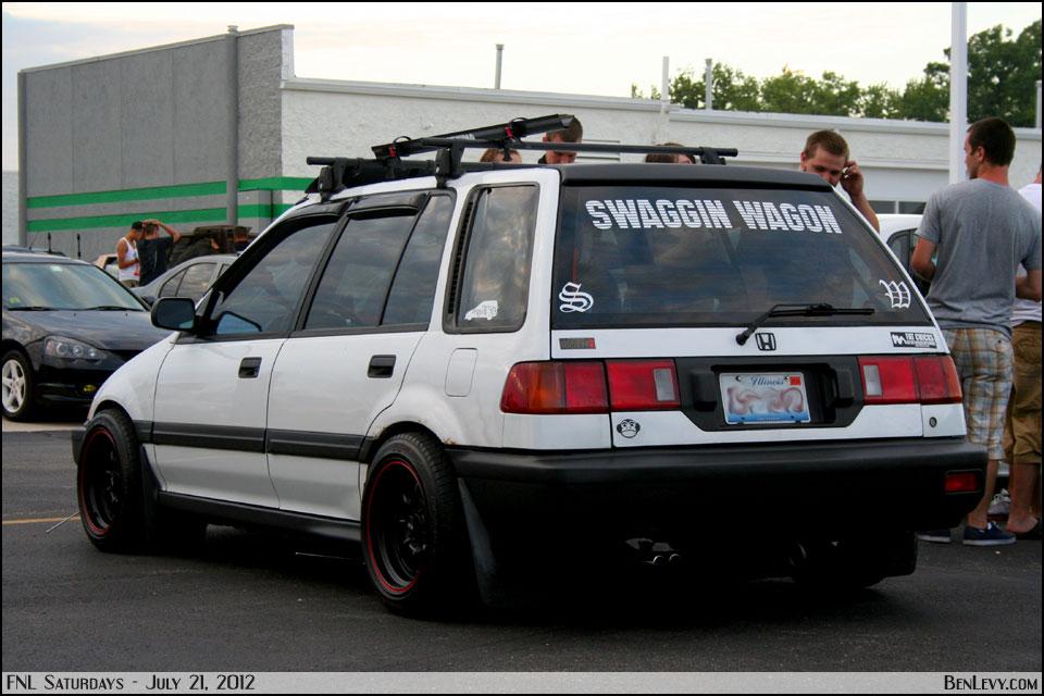 White Honda Civic Wagon Benlevy Com