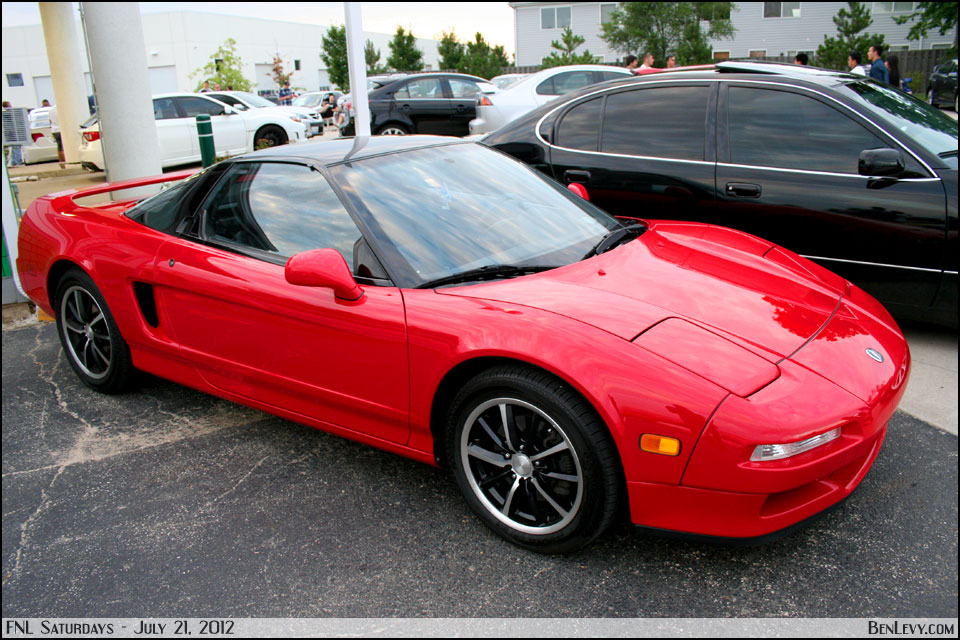 Red Acura Nsx Benlevy Com