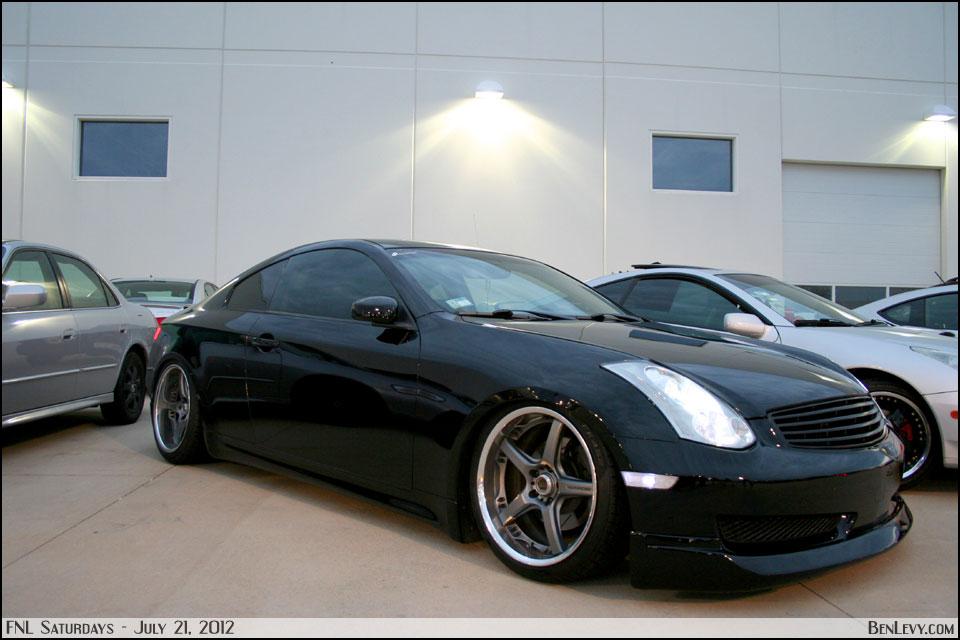 Black Infiniti G35  BenLevycom