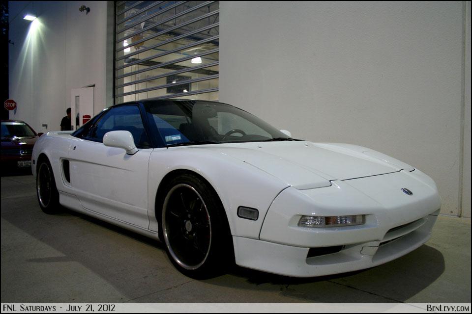 White Acura NSX - BenLevy.com