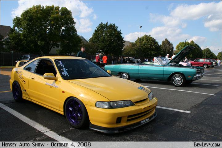 Yellow Integra Type R Benlevy Com