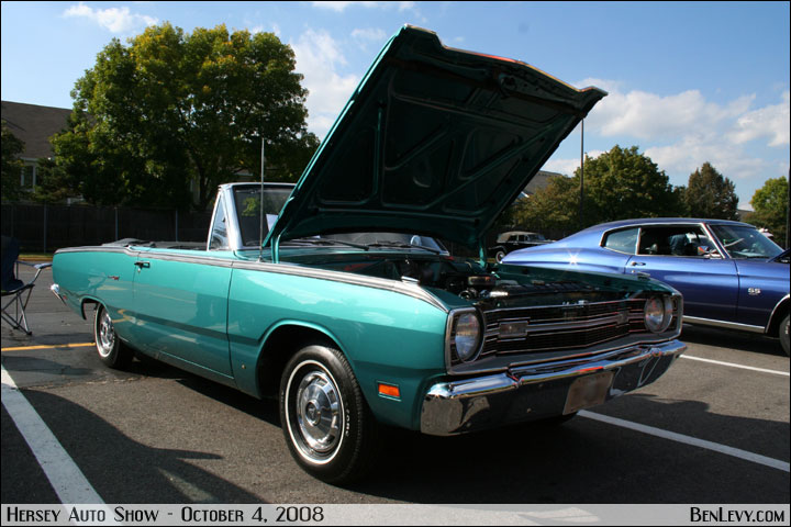 1969 Dodge Dart Gt Convertible Benlevy Com