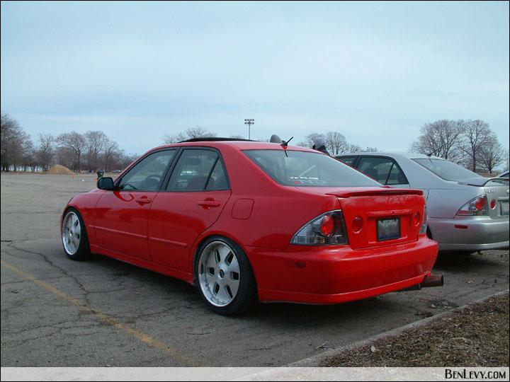 Red Lexus Is300 Benlevy Com
