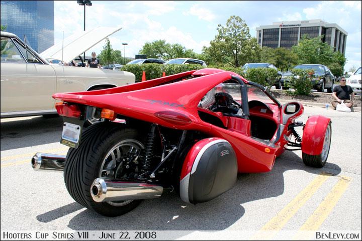 t rex motorcycle. Red T-Rex