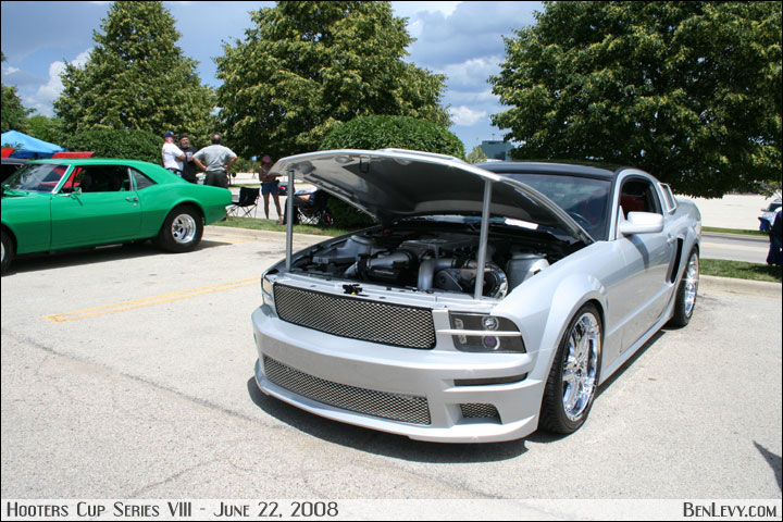 Silver Supercharged Mustang Benlevy Com
