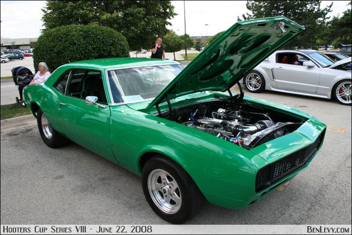 Green Chevy Camaro Benlevy Com