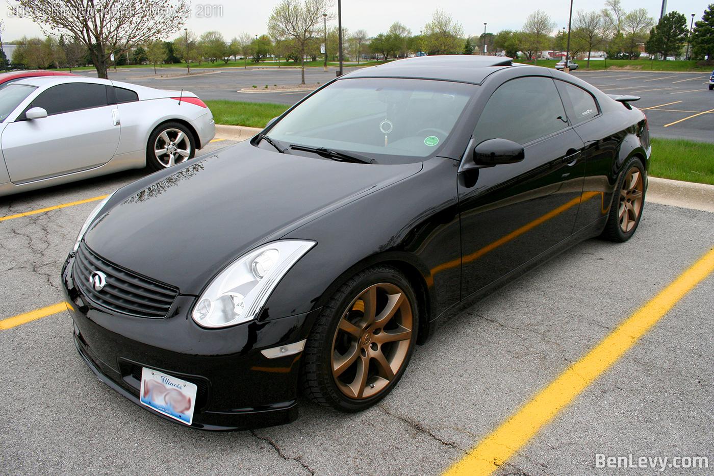 Black Infiniti G35 Coupe - BenLevy.com