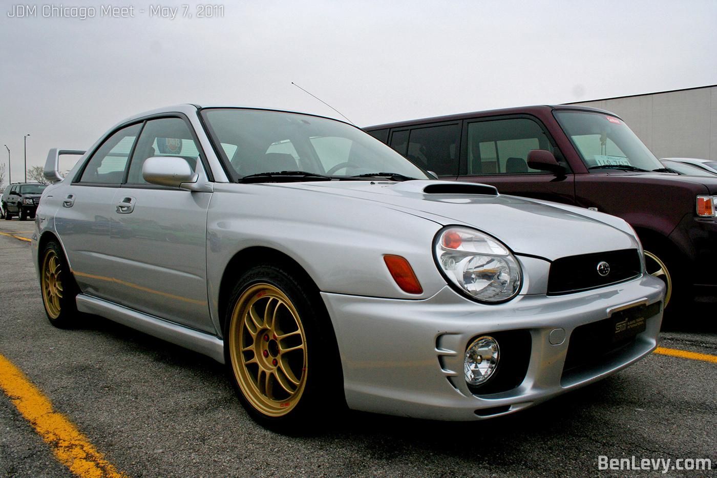 Silver Subaru WRX - BenLevy.com