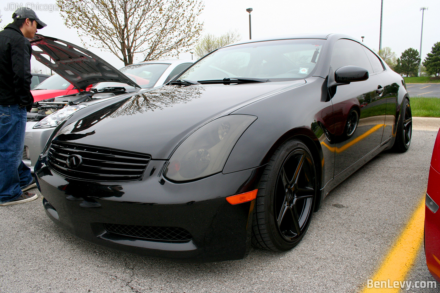 Blacked Out Infiniti G35 Coupe