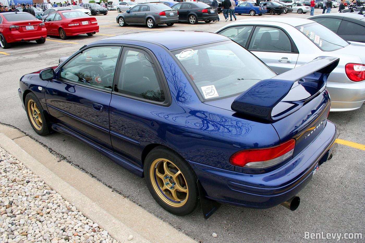 Blue Subaru Impreza Rs Benlevy Com