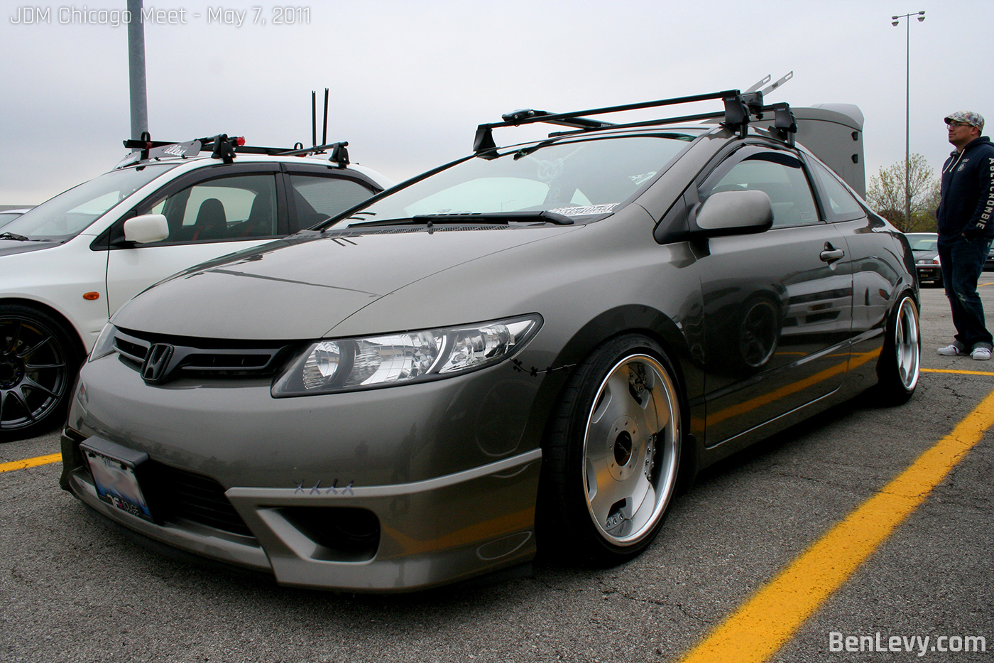 Honda Civic Coupe With Roofrack Benlevy Com