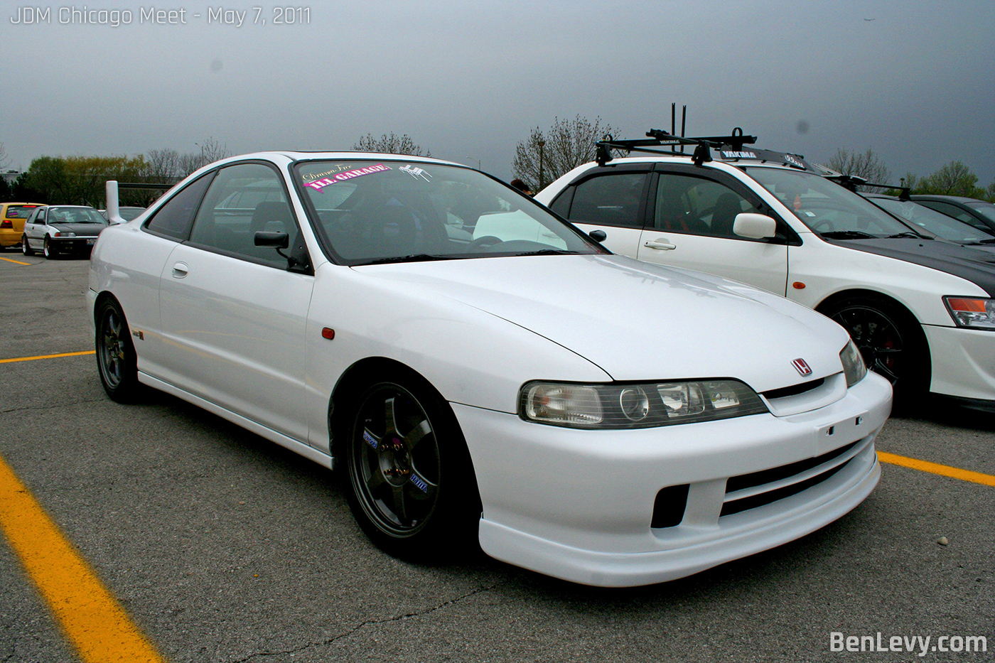 Acura Integra With Jdm Front Benlevy Com
