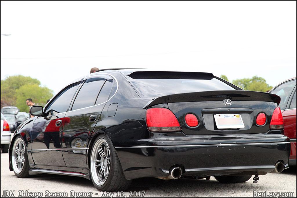 Black Lexus GS