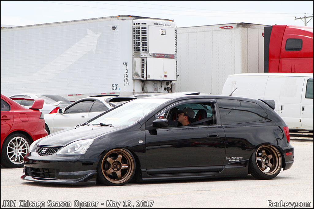 Black EP3 Honda Civic Si