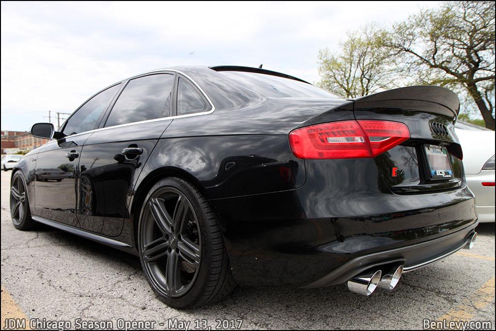 Black Audi S4