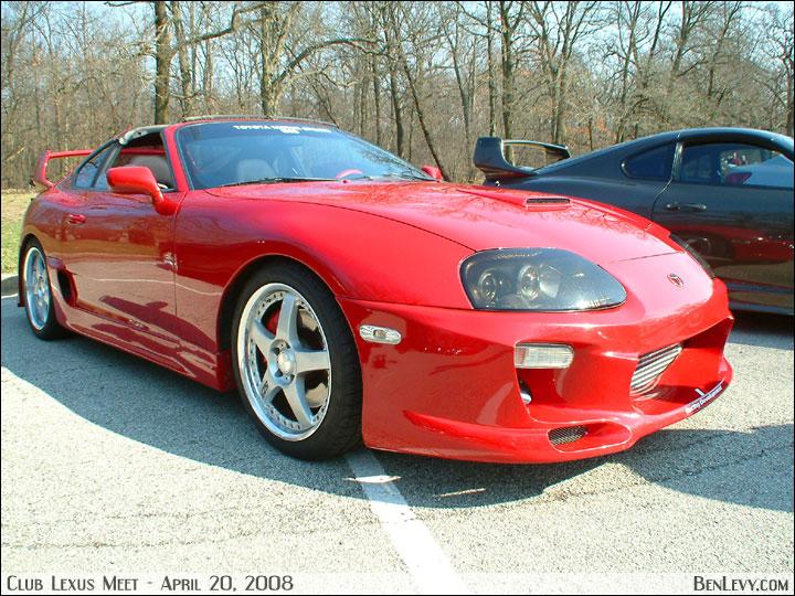 Red Toyota Supra Benlevy Com