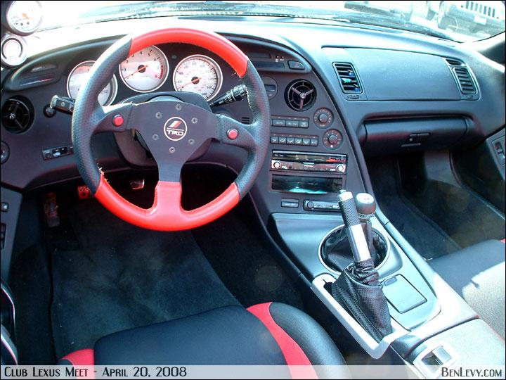 Toyota Supra With Trd Steering Wheel Benlevy Com