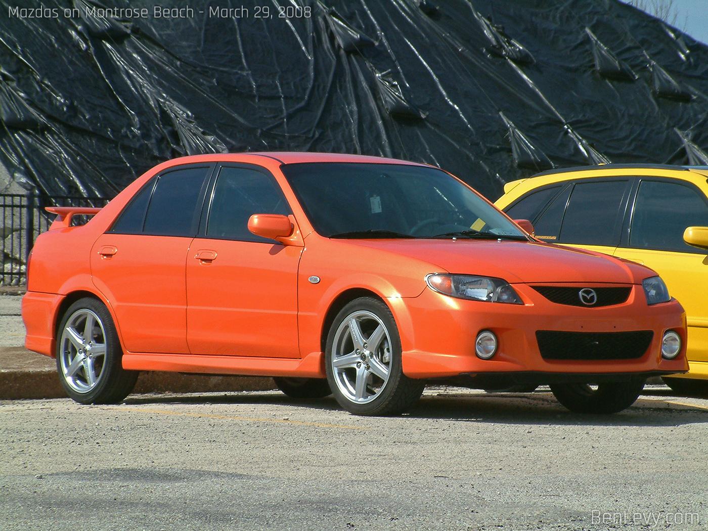 Motor Mazda Mazdaspeed Protege Tuning Car Pictures