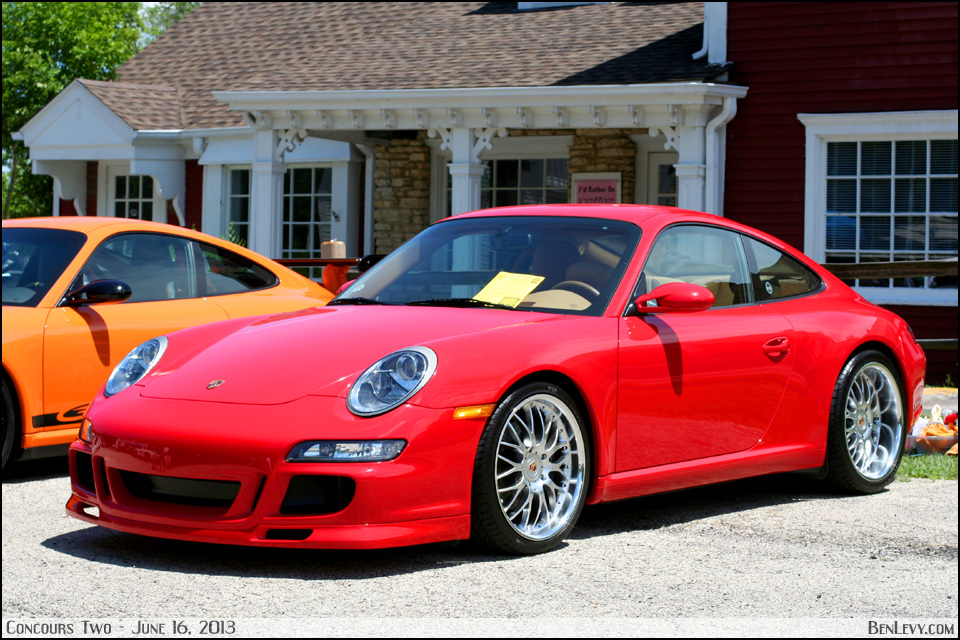 Red Porsche 911 Benlevy Com
