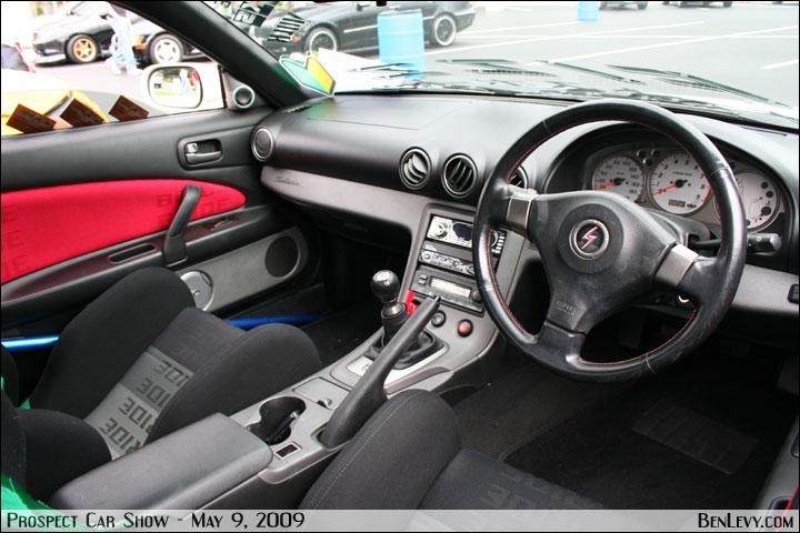 Nissan Silvia Interior - BenLevy.com