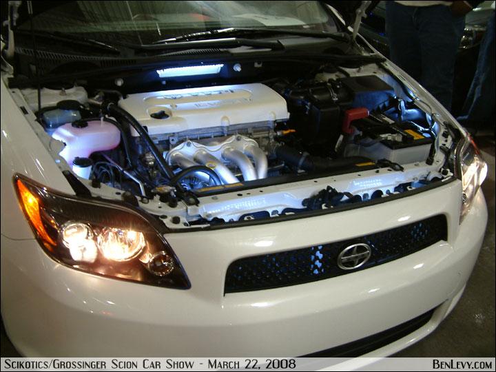 White Scion Tc Engine Bay Benlevy Com