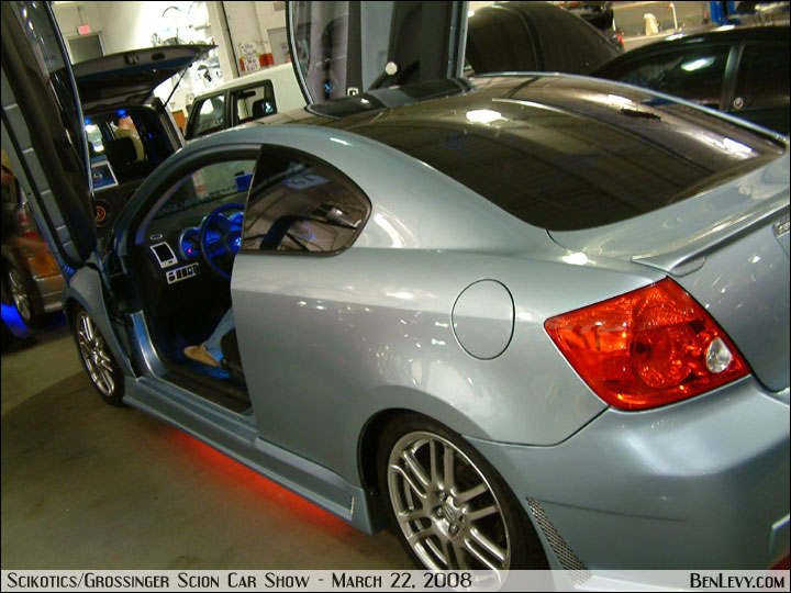 Scion Tc In Azure Pearl Benlevy Com