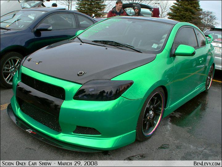 Scion Tc In Custom Green Benlevy Com