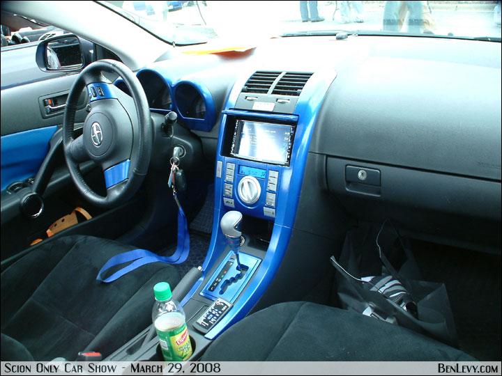 Scion Tc With Blue Interior Benlevy Com